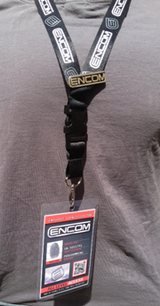 Encom Lanyard, Lapel Pin & Employee Badge