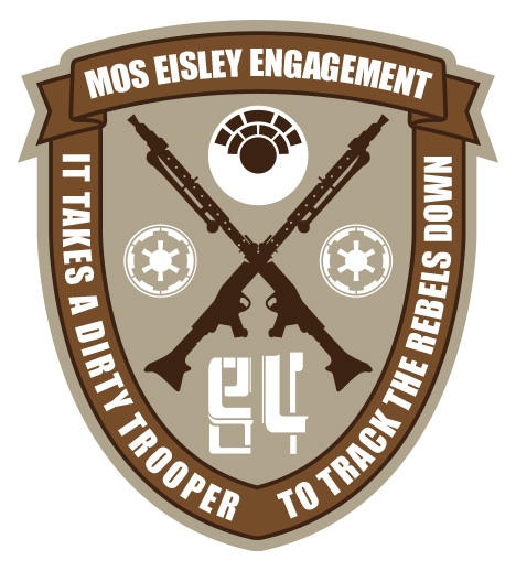 Mos Eisley Engagement Patch - #2 in Series