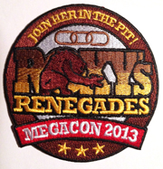 Roxy's Renegades MegaCon 2013 Patch